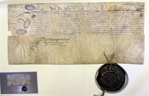 Lettres-patentes du roi Louis XIV